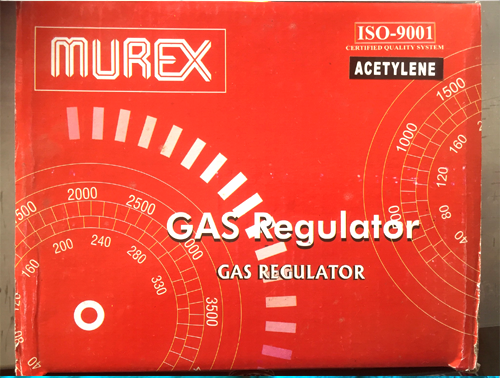 Murex Single Stage Acetylene Gas Regulator